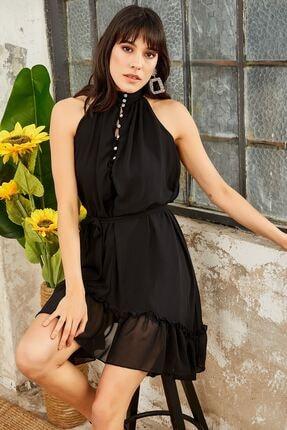 Mispacoz Kadın Elbise Siyah S830