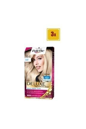 Palette Deluxe 10-2 Platin Sarısı X 3 Adet