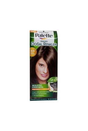Palette Natural Saç Boyası  6-0 Koyu Kumral