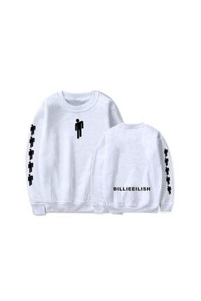 Köstebek Billie Eilish Logo Unisex Uzun Kollu Sweatshirt