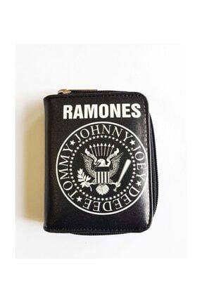Köstebek Kadın Siyah Ramones Cüzdan