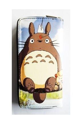 Köstebek Totoro With Friends Kadın Cüzdan