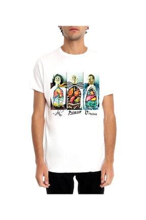 Köstebek Dali - Picasso - Van Gogh Unisex T-shirt