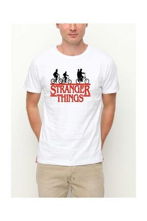 Köstebek Stranger Things Bicycle Children Unisex T-shirt