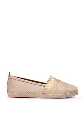 Deery Kadın Bej Espadril Ayakkabı
