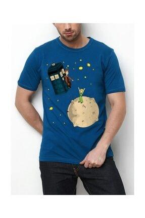Köstebek Küçük Prens - Tardis Unisex T-shirt