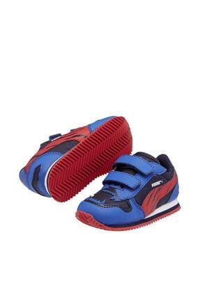 Puma Lacivert Bebek  Street Runner Comıc Cat Sneaker
