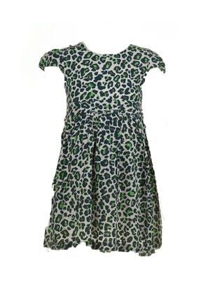 Zümrüt Yeşil Elbise -02613