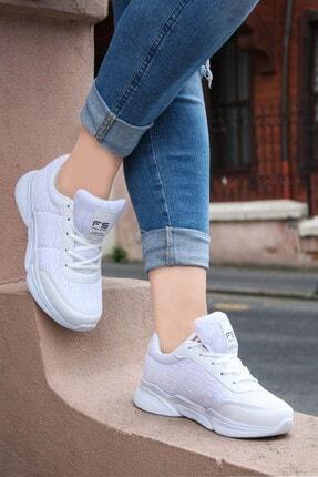 Fast Step Beyaz Kadın Sneaker Ayakkabı 865ZA5030