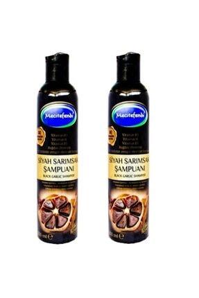 Mecit Efendi 2 Adet Siyah Sarımsak Şampuanı 2x250 ml