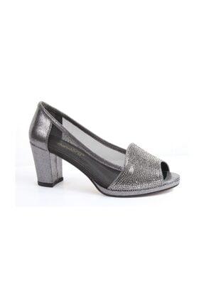 Pandora Y20.Ka9960 Kadın Topuklu Sultan Taşlı Ayakkabı