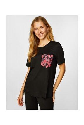 Faik Sönmez Kadın  Siyah T-shirt 39646