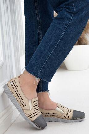 Mammamia Kadın Günlük Bej Ayakkabı