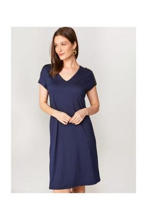 Faik Sönmez Troklu Örme Elbise 60045