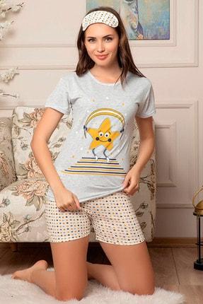 D-Paris Bandajlı Şortlu Pijama Takımı