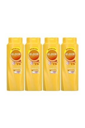 Elidor Ipeksi Yumuşaklık Saç Bakım Şampuanı 650 ml 4 Adet