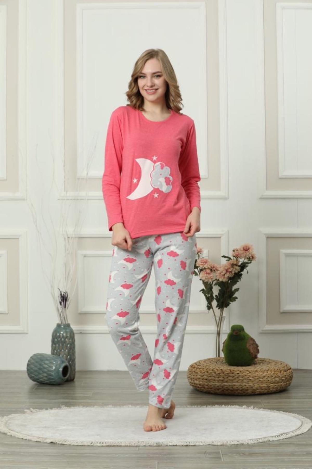 Oksit Giyim Gls 827 Sleep Kadın Pijama Takımı