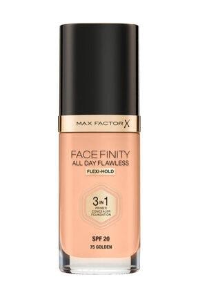 Max Factor Fondöten - FaceFinity All Day Flawless Foundation 75 Golden 3614225851667