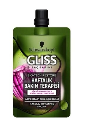 Gliss Bıo-Tech Haftalık Bakım  Terapisi 50 ml