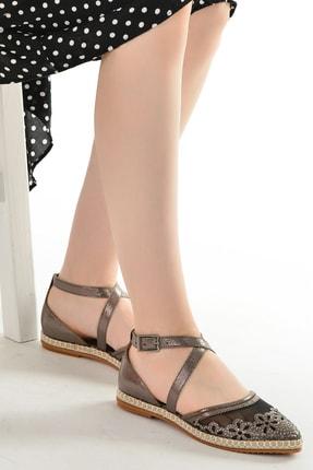Ayakland Abiye Anatomik Kadın Babet Ayakkabı 177-34