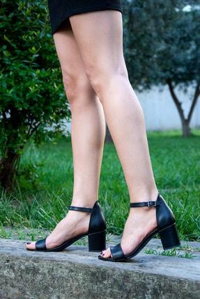 Fox Siyah Kadın Topuklu Ayakkabı H303300009