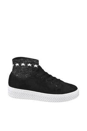 Graceland Deichmann Siyah Sock Sneaker