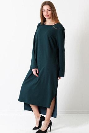 Herry Kadın Yeşil Elbise 17pk6495