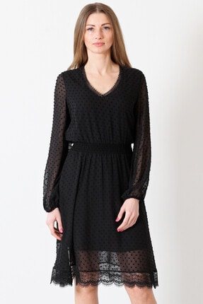 Herry Kadın Siyah Elbise 20fy60076