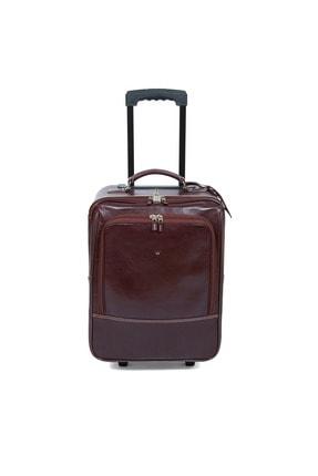 Tergan K.taba Deri Unisex Seyahat Çantası 02745a99