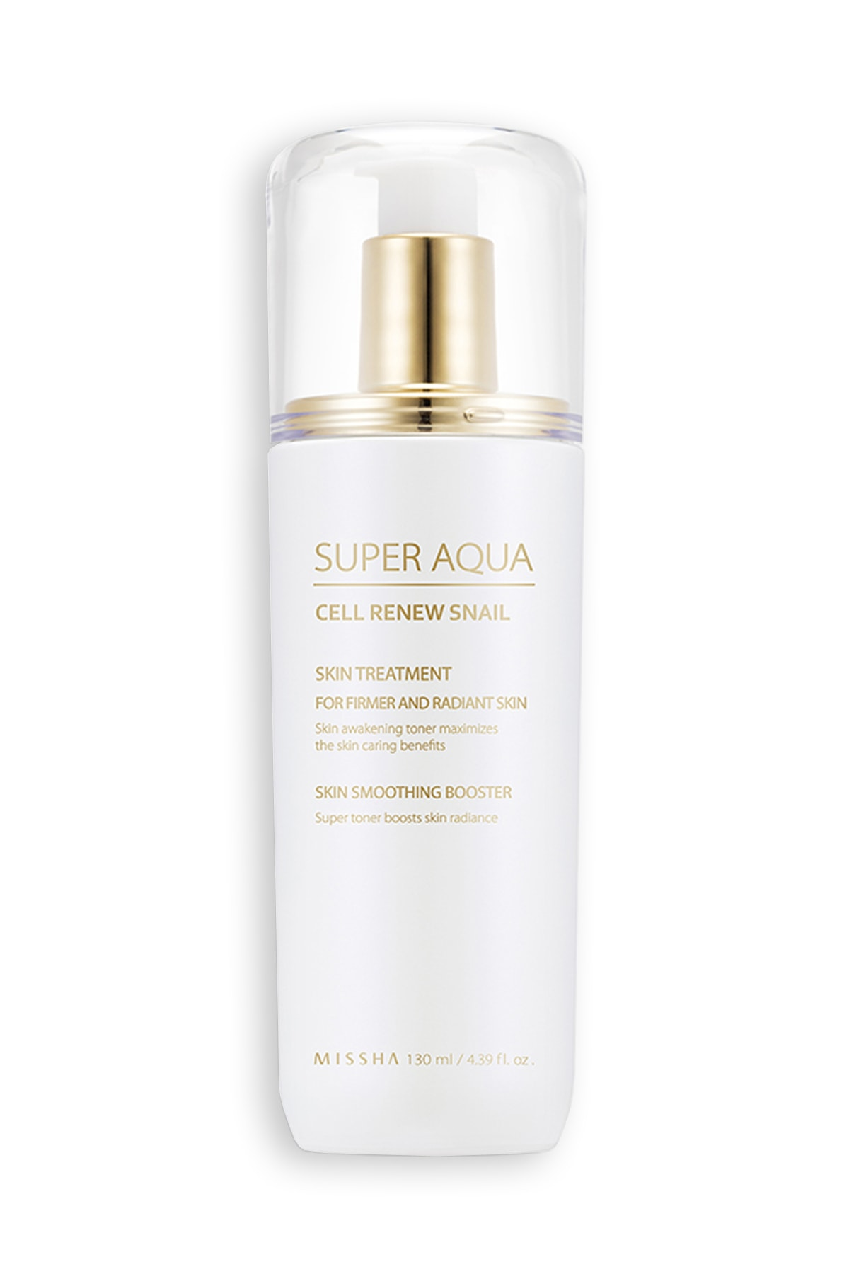 Missha Nemlendirici Tonik - Super Aqua Cell Renew Snail Skin Treatment 8809581458567