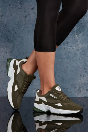 DARK SEER Haki Beyaz Unisex Sneaker MRC.1802E