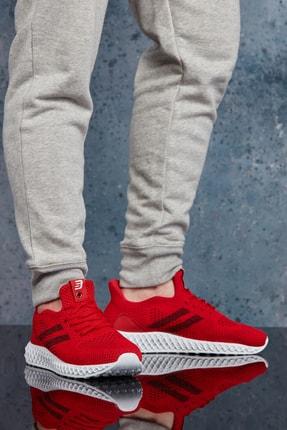 DARK SEER Kırmızı Siyah Unisex Sneaker