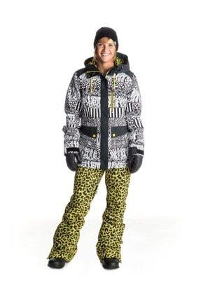 Roxy Woodrun Kadın Kayak Ve Snowboard Pantolonu Sarı