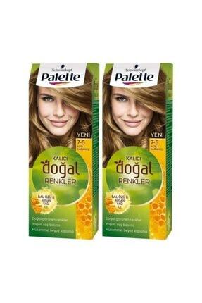 Palette Kalıcı Doğal Renkler 5-0 Açık Kahve X 2 Adet