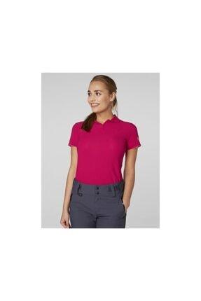 Helly Hansen W HP Dynamic Kadın Polo Persian Red T-shirt