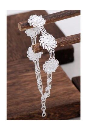 Sümer Telkari Çiçek Tasarım Telkari Gümüş Bileklik 3100