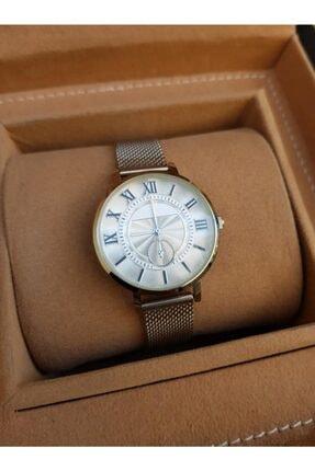 Spectrum Gümüş Hasır Klipsli Kordon Gümüş Kasa Roma Rakamlı Kadın Saati