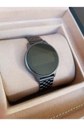 Spectrum Siyah Çelik Klipsli Kordon Dokunmatik Ekranlı Kadın Saati