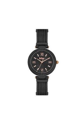 Lee Cooper Kadın Kol Saati Siyah Metal  Lc06778.650