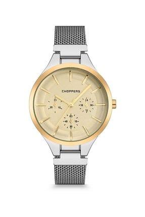 Choppers Kadın Kol Saati CBH18136 Metal Gümüş