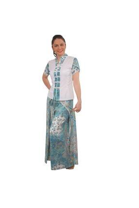 Turkuaz Spa Bali Elbiseleri Uniforması Beden CELNRXO34