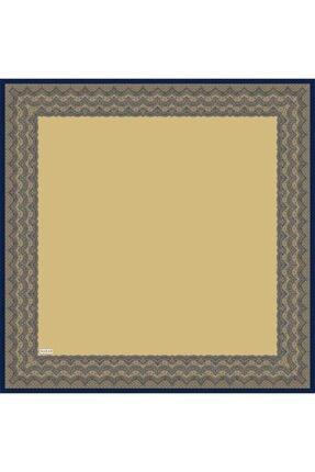 Sarar Kenarı Yaldızlı Duz Renk Ipek Esarp 1682-12