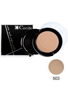 Cecile Matte Touch Perfect Powder Pudra No 503