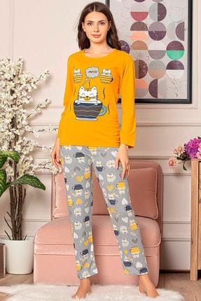 D-Paris Uzun Kol Pijama Takımı