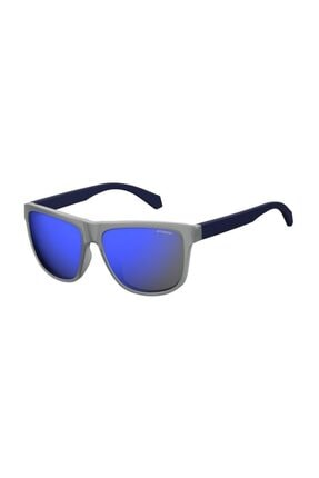POLAROID Unisex Dikdörtgen Güneş Gözlüğü 2057/S RCT 5X 57 G