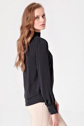 Jument Kadın Siyah Bluz 6345