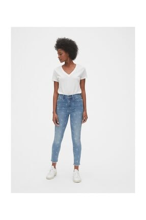 High Rise True Skinny Ankle Jean Pantolon 519345