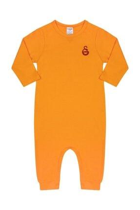 Galatasaray Unisex Bebek Sarı Lisanslı Tulum