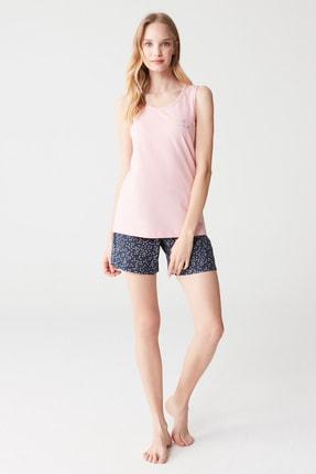Mod Collection Kadın Pembe Pijama Takımı