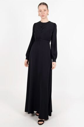 Puane Kadın Siyah Elbise  -pn12180